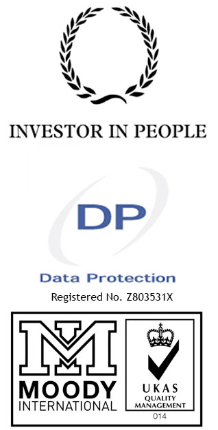 Investor In People - Data Protection Registered